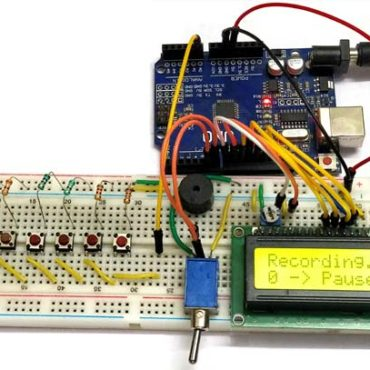 Arduino-based-Piano-with-Recording-and-Replay