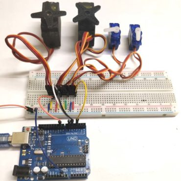 Controlling-Multiple-Servo-Motors-with-Arduino