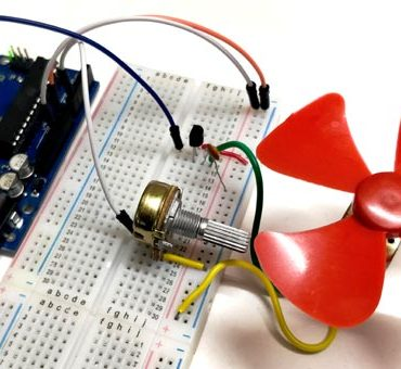 DC-Motor-Speed-Control-using-Arduino-and-Potentiometer
