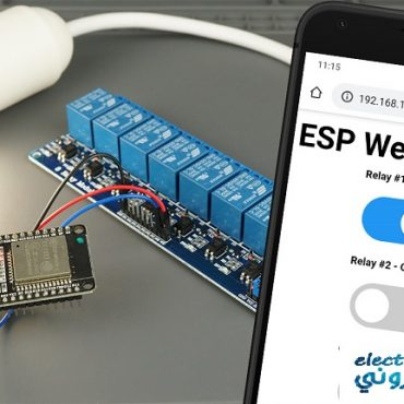 ESP32-Relay-Module-Tutorial-project-web-server-featured