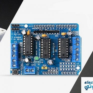 Tutorial-For-Interfacing-DC-Stepper-Servo-Motors-with-L293D-Shield-Arduino